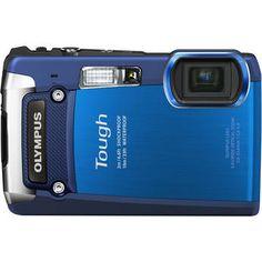Olympus Tough TG-820 (Blue) Waterproof/Shockproof Camera