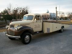 1942 Chevrolet car hauler truck