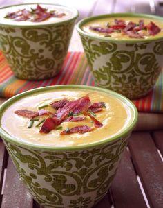 Butternut Boursin Bacon Soup