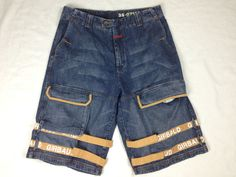 73804dfb86 Casual Solid Regular Size 100% Cotton Shorts for Men | eBay. Girbaud JeansSunshine  ...