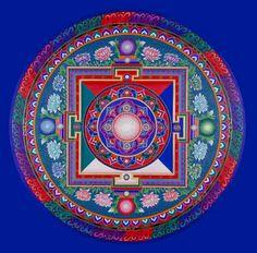 Blossoming of the Soul Mandala