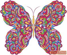 Abstract butterfly cross stitch kit                                                                                                                                                                                 More