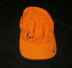 5b7fae748fcfe Nike Rafa Bull Logo Featherlight Mens Tennis Hat Copper Flash Black #Nike  #BaseballCap