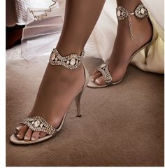 pretty sparkly shoes