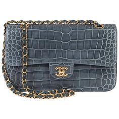 ae3f70f33915 SO SO RARE Pristine Chanel Alligator Medium Double-flap 'Sac Timeless' With  GHW