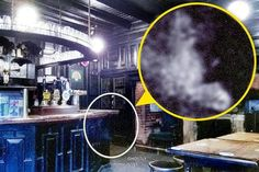 The grainy image appears to show the ghost of a sneaky English civil war cavalier earwigging on plans to snub King Charles I [Caters News Agency] Ghost Images, Ghost Pictures, Weird Pictures, Ghost News, Grim Reaper Pictures, Warlock Spells, Spooky Halloween Pictures, Spirit Ghost, Ghost Sightings