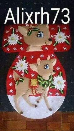 Decoración del hogar Felt Christmas Ornaments, Christmas Love, Christmas Crafts, Christmas Decorations, Christmas Christmas, Christmas Stockings, Felt Crafts, Diy And Crafts, Christmas Bathroom Sets