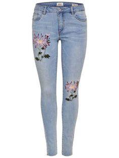 Only Carmen Reg Skinny Fit Jeans Skinny Fit Jeans, 49er, Pockets, Closure, 38edd87d6a