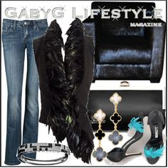 """GabyG on Feb 11th, Evening"" by gabyg on Polyvore"