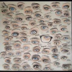 YouTubers eyes
