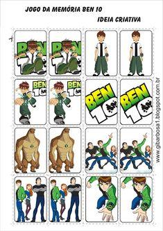 Jogo da Memória Ben 10