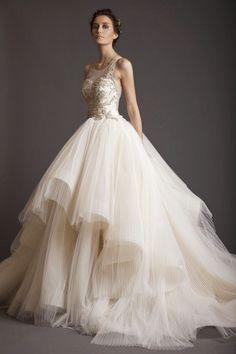 Novidades! Vestidos de noiva 2015 coleção Amal Krikor Jabotian's.