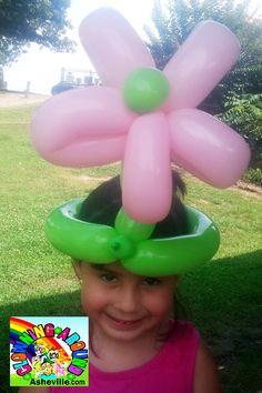 Flower Hat-Balloon Twisting