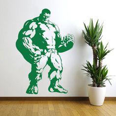 Incredible Hulk Marvel Hero Wall Decal Vinyl by VinylWallArtworks, $20.99