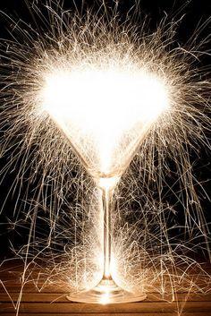Sparkling clear cider