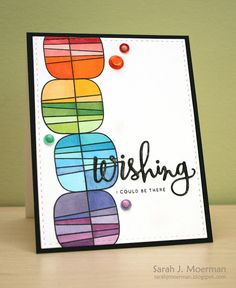 Such an Awesome card created by Sarah Moerman using Simon Says Stamp Exclusives.