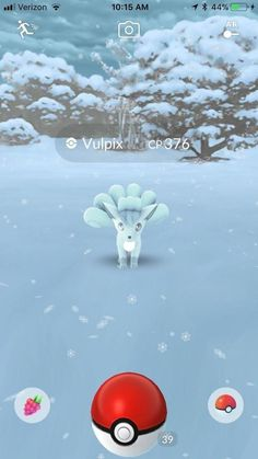 Vulpix PokemonGo