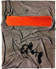 Blanket with Tracks, Antoni Tapies, 2001. Catalonia
