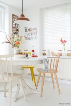 Suikerfeest styling in de keuken ronde tafel ©BintiHome