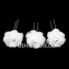 Headpieces - $9.99 - Lovely Satin Flower Girl Hairpins/Headpiece (Set of 3)  (042024261) http://jenjenhouse.com/Lovely-Satin-Flower-Girl-Hairpins-Headpiece-Set-Of-3-042024261-g24261