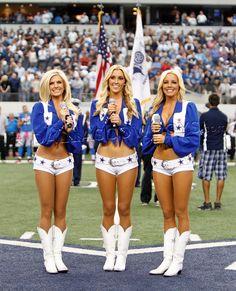 Dallas Cowboy Cheerleaders soooo beautiful