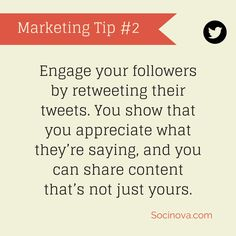 #SocialMedia #Marketing Tip