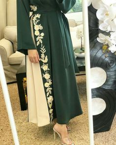 The word conjures up images of gorge… Modest Fashion Hijab, Modest Outfits, Fashion Dresses, Hijab Dress Party, Hijab Evening Dress, Abaya Designs, Kurta Designs Women, Arab Fashion, Muslim Fashion