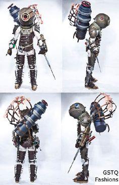 AWESOME Bioshock Big Sister cosplay