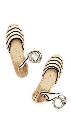 Espadrilles~Visit www.lanyardelegance.com for beautiful Beaded Lanyards and Crystal Eyeglass Holders for women.