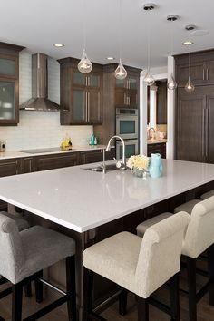 Custom model customer home Morrison Homes, Kitchen Island, Kitchens, Tasty, Model, House, Home Decor, Gourmet, Island Kitchen