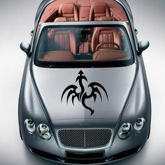 BEAUTIFUL DRAGON ANIMAL ART DESIGN HOOD CAR VINYL STICKER DECALS MURALS SV1347