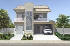 Planta de casa com telhado duas águas - Projetos de Casas, Modelos de Casas e Fachadas de Casas