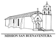 Mission San Jose Coloring Pages Kylah California
