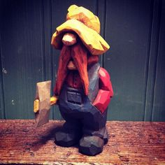 "466 Likes, 20 Comments - Doug (@dougoutside) on Instagram: ""And painted #caricaturecarving #caricatures #woodcarving #carving #whittling #bushcraft #lumberjack…"""