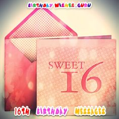 16th Birthday Messages