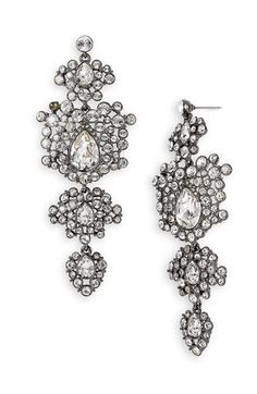 Givenchy 'Terra' Large Tiered Chandelier Earrings available at #Nordstrom