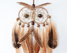 Owl Dream Catcher Dreamcatcher handmade от MagicalSweetDreams