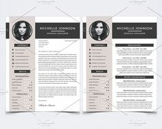 ResumeCoverletterPortfolio Bundle  Resume Cover Letters And