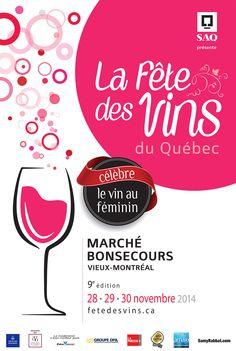 La fête des vins - Wine festival Montreal festival 28-29-30 November 2014 at Bonsecours market in Montreal