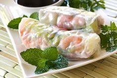 Vietnamese Recipe: Prawn & Bean Shoot Summer Rolls - 12 Tomatoes