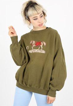 Vintage+Horse+Sweatshirt