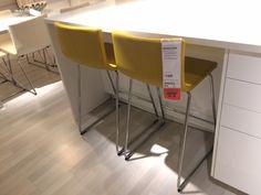 Ikea BERNHARD tall chairs
