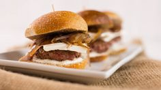Lamb Red Onion Sliders With Feta