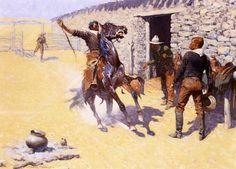 Frederic Remington Western Art | Frederic Remington (1861-1909)