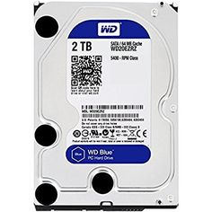 Blue Desktop Hard Disk Drive