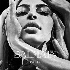 Tearful Celebrity Fashion Campaigns : balmain fall