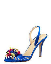 Kate Spade always makes a pretty party shoe.