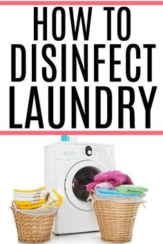 Trying to stop the spread of viruses? Check out these easy tips on how to disinfect laundry. You can easily sanitize laundry with or without bleach.