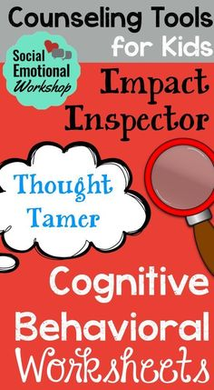 The included CBT Maps can help students break down their thoughts, feelings, and behavior. 35+ Pages of Counseling Tools. They will begin to see what strategies they can use to manage themselves, and appreciate the impact, positive or negative, that their