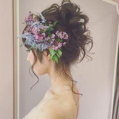 いいね!3,284件、コメント1件 ― MAISON de RIRE  officialさん(@maison.de.rire)のInstagramアカウント: 「フローリストの吉川さんとのヘアスタイルコラボは本当に気持ちのいい仕事でした。 ・ #フィオーレビアンカ #ブライダル #プレ花嫁 #ブライダルヘアメイク #ウェディングドレス  #ブーケ」